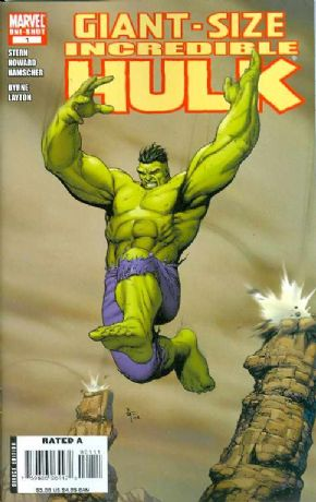 Giant-Size Incredible Hulk #1 Marvel comic book